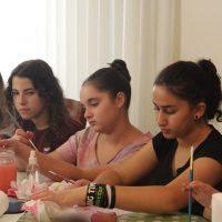 פעילות לנערות לחופש הגדול