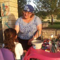 ציורי פנים ביום הולדת