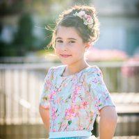 ילדת בת מצווה - איפור ושיער