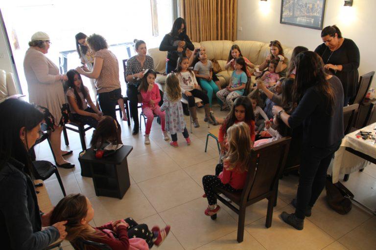 אמהות ובנות נהנות