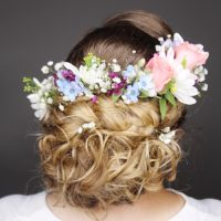 Bride updo in modiin